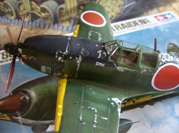 J2M raiden Tamiya 1/48e