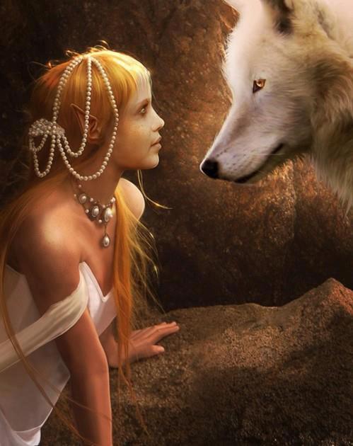 La jeune fille et le loup