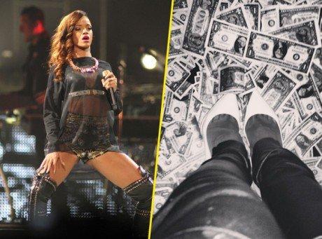 Rihanna dans les clubs de strip à Miami !!
