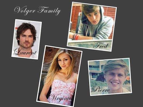 Les personnages de la famille Volger