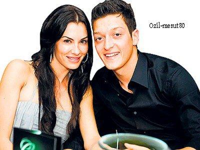 Mesut ozil et Anna Maria