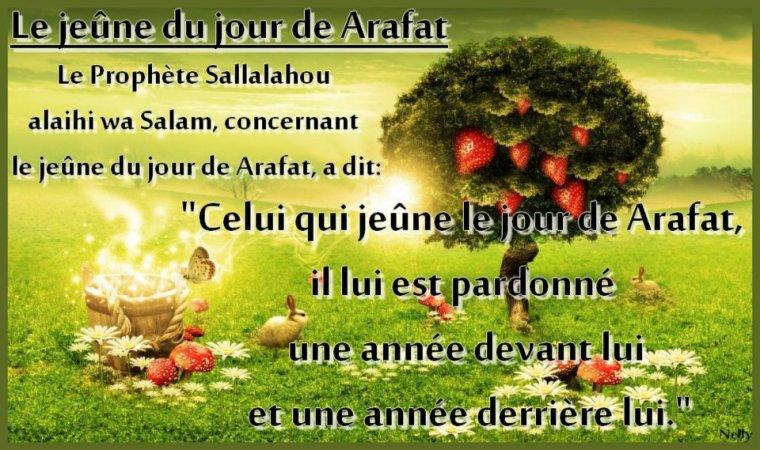 Le Jeûne du jour de Arafat