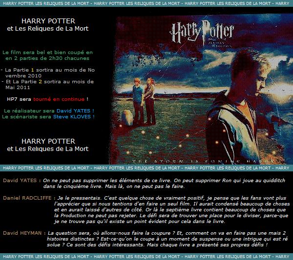__■■■__A R T I C L E - O33_____o__,________L E S - N O U V E A U T E S - D E - L A - P L A N E T E - H P_l,________■■■__ __■■■__{Déco l Pix l Texte by Me}l,_______lo________o_Harry Potter et Les Reliques de La Mort__ll_____________■■■__