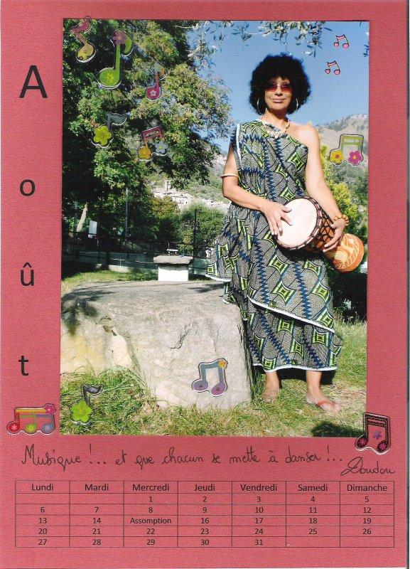en Août, c'est Doudou, ses musiciens et la Musique