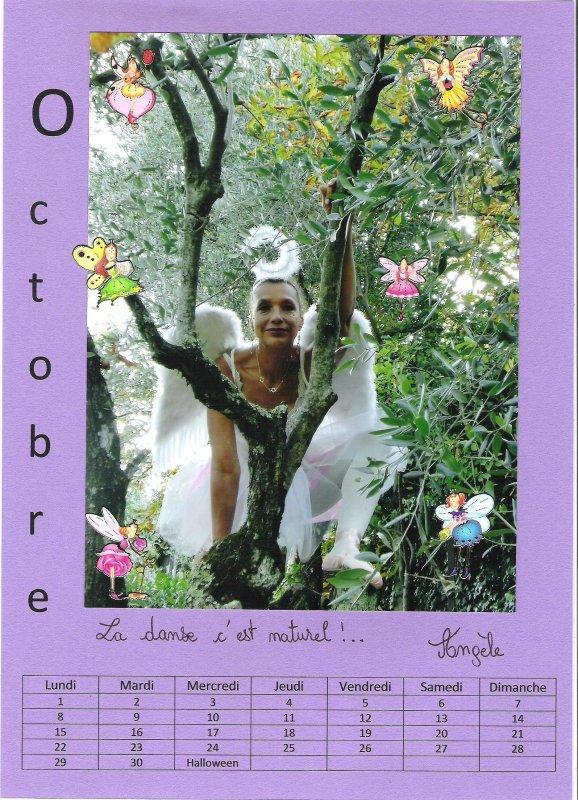 en Octobre, Angèle danse, c'est naturel !