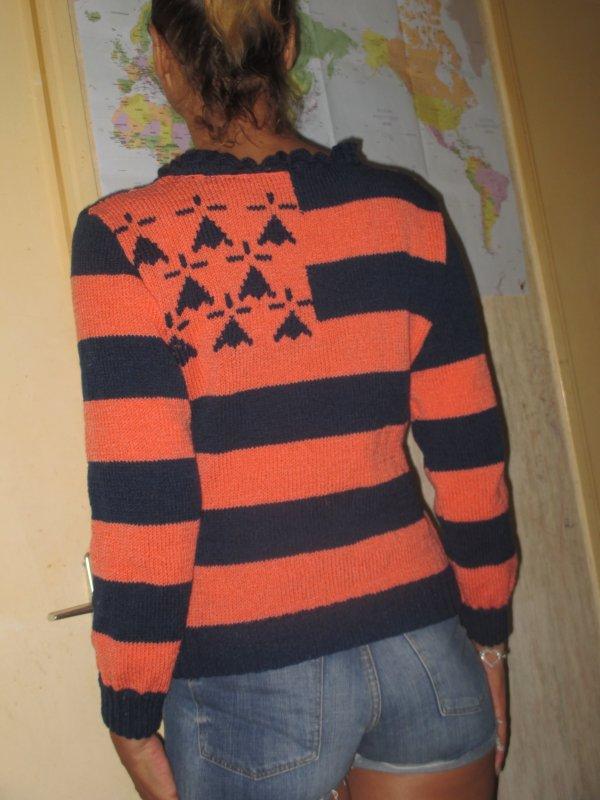 pas beaucoup de clients............ mais je tricote .......... pour moi