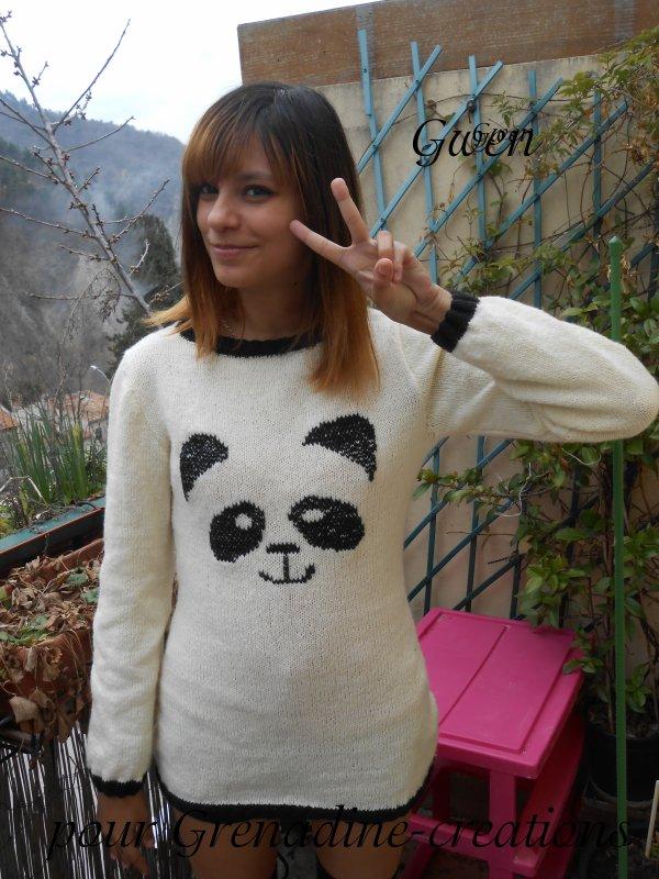 un pull pour Gwen