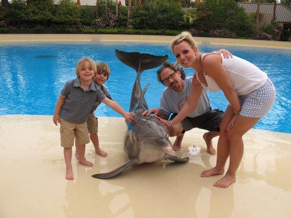 Preston (5ans) Jayden (4ans) fils de Britney Spears