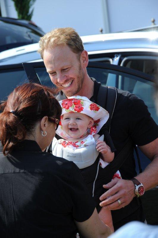 Mia (6mois) fille de Ian Ziering (BeverlyHill's)