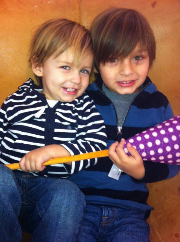 Les enfants de l'acteur Greg Vaughan (Charmed)