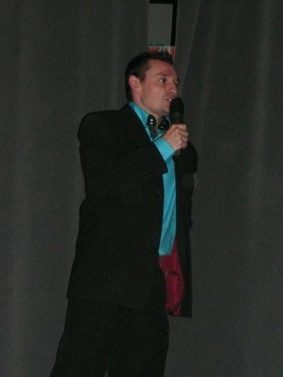 Sainte Cécile 2010 - Présentateur