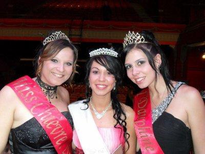 Sorties en tant que 1ere Dauphine Miss Chièvres 2011-2012