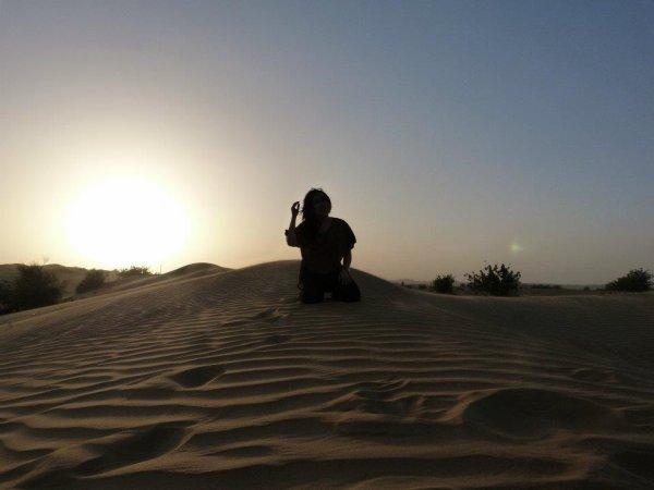 Une journée des sables :)