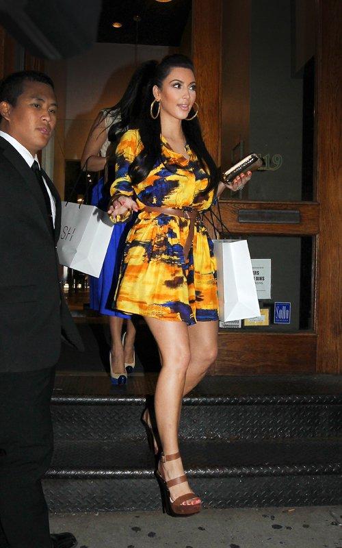 Kim et Kourtney Kardashian à New-York - 01.09.2011