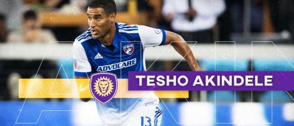 MLS : Akindele rejoint Orlando