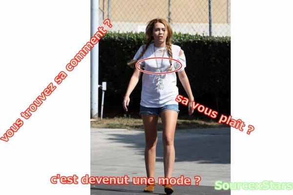 Miley Cyrus , Fait gaffe quand meme !