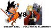 Dragon Ball VS Full Metal Alchemist