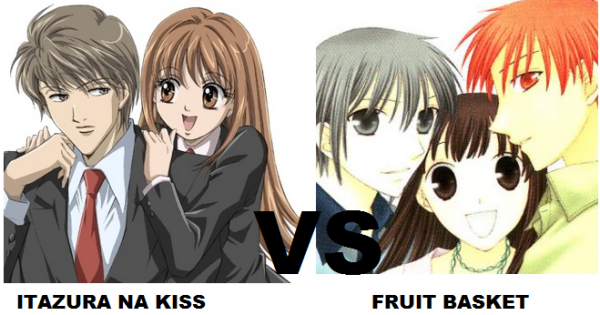 Itazura na kiss VS Fruit Basket