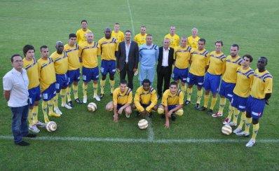L'equipe de Nevers foot saison 2010 2011 en DH bourgogne