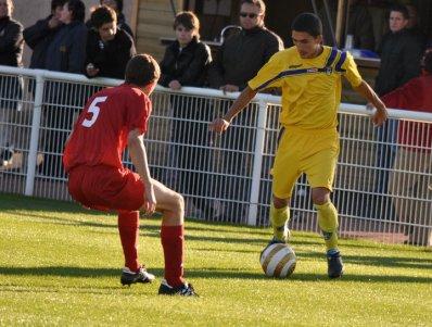 Igor Atchoul attaquant de Nevers foot