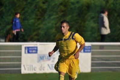 Fabien Charmot deja 3 buts en 2 match pour lui