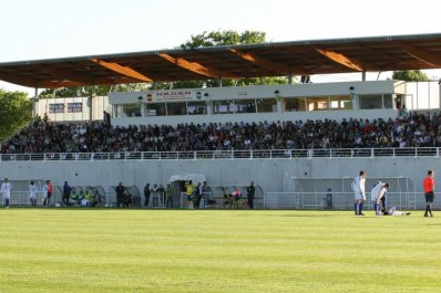 Le stade de Nevers Foot