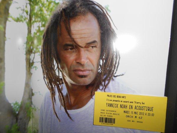 Yannick Noah - concert Charleroi le 15/05/2012