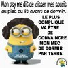 Citations des minions... lol