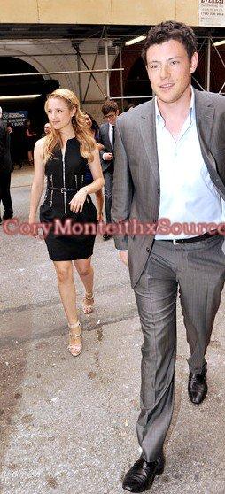 ~ Cory & le cast de Glee était à un évènement que la Fox organisait à New York City  ~