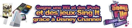 Quiz Shake it Up Dance Talents - Une Wii à gagner sur Zap zone!