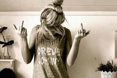 Fuck la vie ! ♥