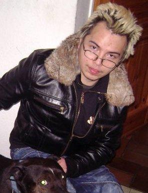 en mode blond petit delire loool