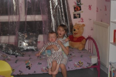 a refait la chambre de sa 2eme fille et du petit dernier