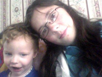:) Mon petit frére et moi :)