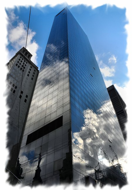Reflets bulding NEW YORK .