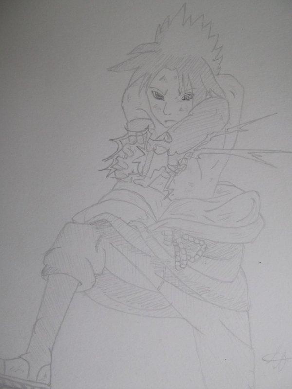 Dessin de Sasuke n°1