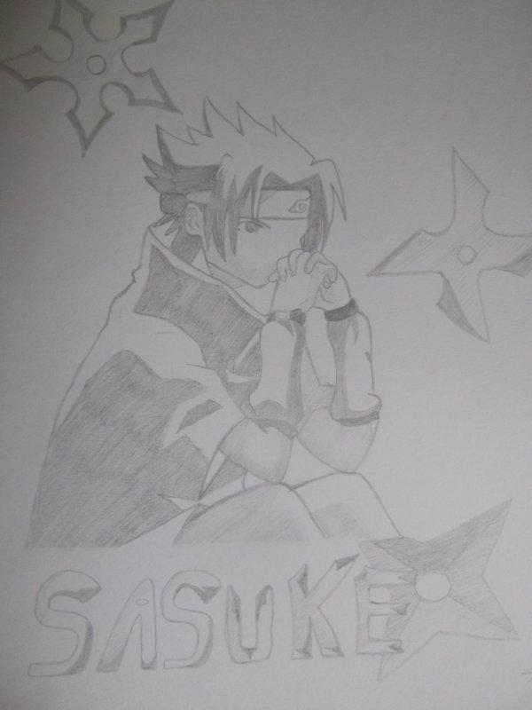 Dessin de Sasuke n°2