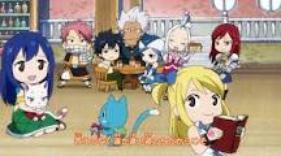 Les membres de Fairy Tail