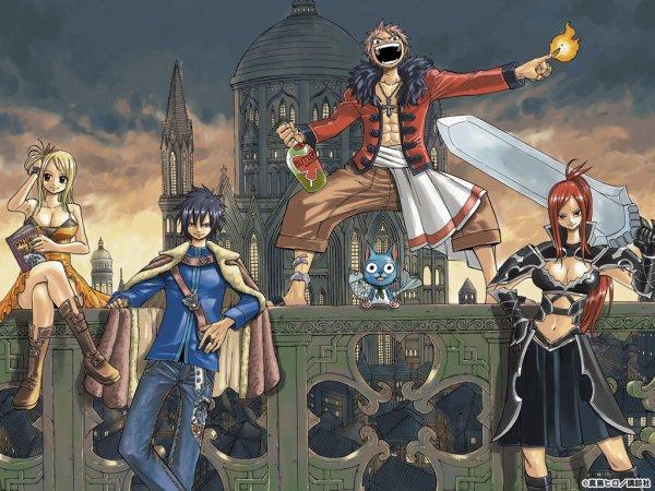 les différentes équipes de Fairy Tail