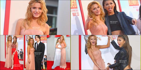 21/05/2014 : Bella sur le tapis rouge pour la première de Blended à Hollywood. sa tenue rien a dire, je suis méga fan de sa robe je trouve qu'elle est trop mignonne. Un gros TOP ! Vos avis ??