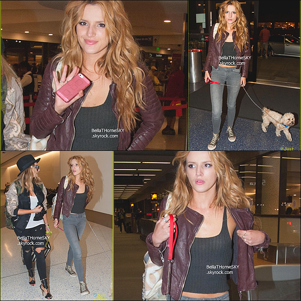 21/05/2014 : Après la première de Blended, Bella s'est rendue a l'aéroport de LAX pour se rendre à NY. Notre Belle ne s'arrête jamais, toujours en train de voyager ou faire des interview ..