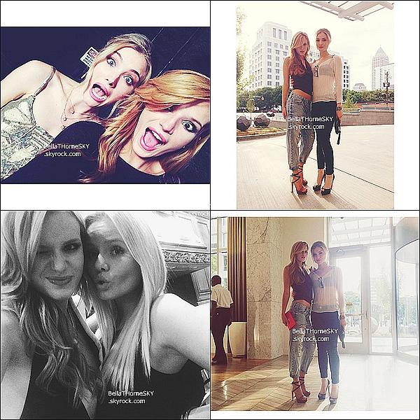 01/06/2014 : Notre miss Bella fait de nouveau un photoshoot pour la marque Candie's.