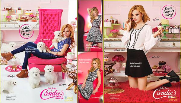 Découvrez les photos de Bella pour la collection pour l'automne de Candie's.