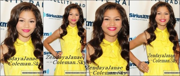 Zendaya Le 2 Aout 2012, A New-York.