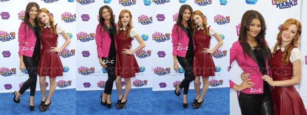 Zendaya au Make Your Mark 2012 : Shake it up dance off 2012 le 6 octobre.