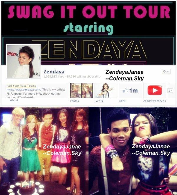 """Découvrez La nouvelle Chanson de Zendaya """"Shake Santa Shake"""" Qui est Sortie le 2 Octobre 2012, Pour Disney Channel Holidays Playlist."""