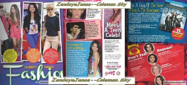 """Zendaya et allée a un Restaurant """"Katsuya"""" Pour fêter L'anniversaire de Bella le 8 octobre 2012."""
