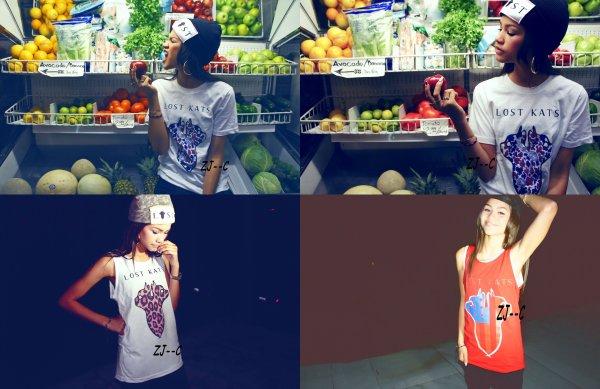 Zendaya et ses amis ont été faire du shopping aux alentours de Los Angeles, Le 12 Octobre 2012 ♥.