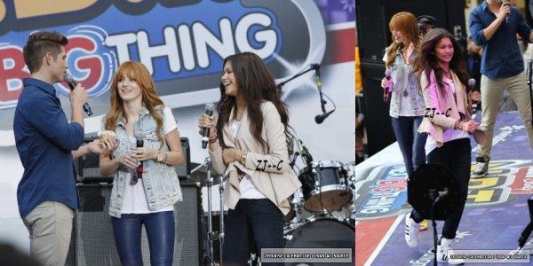 Zendaya & Bella Aux N.B.T, Le 13 Octobre 2012.