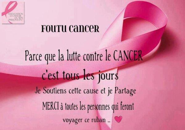 foutu cancer